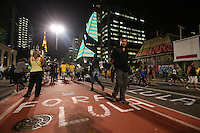 SÃO PAULO,SP, 17.03.2016 - PROTESTO-SP - Manifestantes protestam na Avenida Paulista, em São Paulo, pela renúncia da presidente Dilma Rousseff (PT) e contra o ex-presidente Luiz Inácio Lula da Silva, nesta quinta-feira, 17 (Foto: Vanessa Carvalho/Brazil Photo Press)