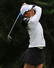Lauren Chen of Manhasset tees off on the 11th Hole of Bethpage State Park's Yellow Course during the second round of the NYSPHSAA girls golf state championship on Sunday, June 3, 2018.