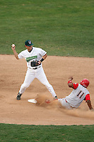 September 6 2008:  Brandon Turner of the Jamestown Jammers, Class-A affiliate of the Florida Marlins, during a game at Russell Diethrick Park in Jamestown, NY.  Photo by:  Mike Janes/Four Seam Images