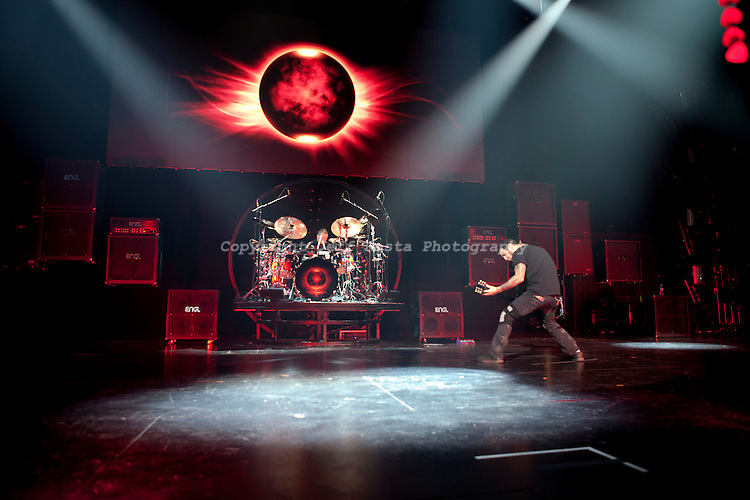 Godsmack live concert at Verizon Theatre on October 22, 2010 in Grand Prairie, TX.