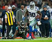 09.11.2014.  London, England.  NFL International Series. Jacksonville Jaguars versus Dallas Cowboys. Cowboys' Dez Bryant (#88) runs in for a touchdown