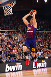 Turkish Airlines Euroleague 2018/2019. <br /> Regular Season-Round 24.<br /> FC Barcelona Lassa vs R. Madrid: 77-70. <br /> Kyle Kuric.