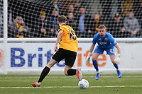 Jake Embery races upfield to score Maidstone's opening goal during Maidstone United vs Havant and Waterlooville, Vanarama National League Football at the Gallagher Stadium on 9th March 2019