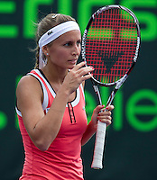 Gisela DULKO (ARG) against Alona BONDARENKO (UKR) in the second round of the women's singles. Dulko beat Bondarenko 7-5 6-2..International Tennis - 2010 ATP World Tour - Sony Ericsson Open - Crandon Park Tennis Center - Key Biscayne - Miami - Florida - USA - Thurs  25 Mar 2010..© Frey - Amn Images, Level 1, Barry House, 20-22 Worple Road, London, SW19 4DH, UK .Tel - +44 20 8947 0100.Fax -+44 20 8947 0117