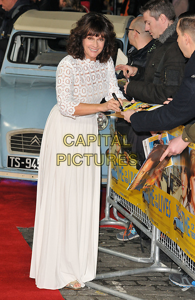 Sian Reeves at the &quot;The Time of Their Lives&quot; world film premiere, Curzon Mayfair cinema, Curzon Street, London, England, UK, on Wednesday 08 March 2017.<br /> CAP/CAN<br /> &copy;CAN/Capital Pictures