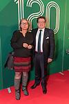 04.02.2019, Dorint Park Hotel Bremen, Bremen, GER, 1.FBL, 120 Jahre SV Werder Bremen - Gala-Dinner<br /> <br /> im Bild<br />  <br /> Dr. Hubertus Hess-Grunewald (Geschäftsführer Organisation & Sport SV Werder Bremen) mit Gattin Bettina<br /> Der Fussballverein SV Werder Bremen feiert am heutigen 04. Februar 2019 sein 120-jähriges Bestehen. Im Park Hotel Bremen findet anläßlich des Jubiläums ein Galadinner statt. <br /> <br /> Foto © nordphoto / Ewert