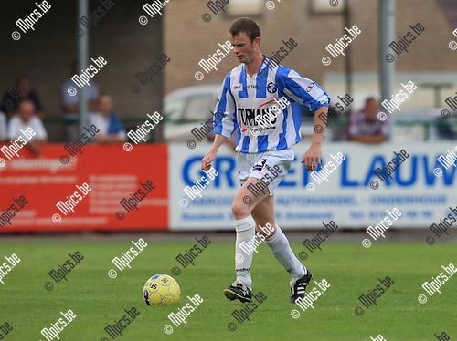 2010-06-22 / Voetbal / seizoen 2010-2011 / Verbroedering Geel-Meerhout / Dieter Conderaerts..Foto: mpics