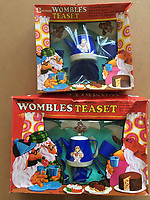 BNPS.co.uk (01202 558833)<br /> Pic: GillSeyfang/BNPS<br /> <br /> Womble tea set from the 1970's<br /> <br /> An environmentalist is selling the world's biggest Womble collection after the famous furry creatures inspired her to save the planet as a child.<br /> <br /> Gill Seyfang, a senior lecturer in Sustainable Consumption at the University of East Anglia, owns over 1,700 items relating the furry creatures.<br /> <br /> Her vast collection ranges from soft toys to rubbish bins and was recognised by the Guinness Book of Records in 2016.<br /> <br /> Ms Seyfang, from Norwich, Norfolk, began amassing the group in the 1970s and it has continued to grow ever since.