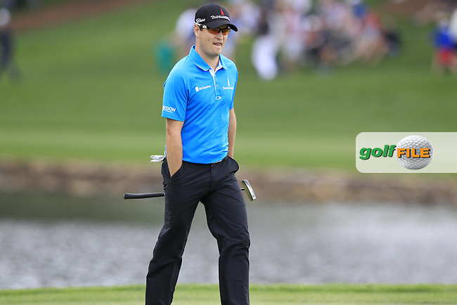 Zach Johnson (USA) walks onto the 17th green during Saturday's Round 3 of the 2013 Wells Fargo Championship at Quail Hollow Club, Charlotte, North Carolina, 4th May 2013..Picture: Eoin Clarke www.golffile.ie.