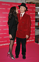 Dr Angelina Whalley and Dr Gunther von Hagens at the Bodyworlds human anatomy exhibition VIP launch, The London Pavilion, Piccadilly Institute, London, England, UK, on Thursday 04 October 2018.<br /> CAP/CAN<br /> &copy;CAN/Capital Pictures