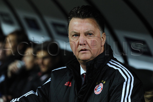 23 02 2011  Milan, Italy.   Champions League Inter Bayern    Photo Luis van Gaal  of Bayern Munich
