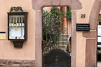 winery wine shop eguisheim alsace france