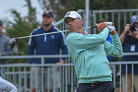 Matt Kuchar (USA) watches his tee shot on 10 during Round 3 of the Valero Texas Open, AT&T Oaks Course, TPC San Antonio, San Antonio, Texas, USA. 4/21/2018.<br /> Picture: Golffile | Ken Murray<br /> <br /> <br /> All photo usage must carry mandatory copyright credit (© Golffile | Ken Murray)
