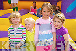 Millie O'Halloran, Monty O'Halloran, Lilly Collins and Isobel Scannell pictured at the childrens fun day at Kevin Barrys Villas on Friday.