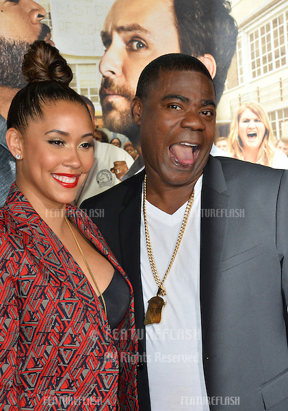 Tracy Morgan &amp; Megan Wollover at the world premiere for &quot;Fist Fight&quot; at the Regency Village Theatre, Westwood, Los Angeles, USA 13 February  2017<br /> Picture: Paul Smith/Featureflash/SilverHub 0208 004 5359 sales@silverhubmedia.com