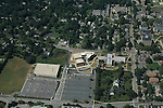 Aerial view of West Chester University, West Chester, PA