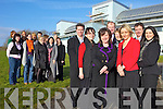 TOURISM JOBS: The new team of workers for All Kerry Tourism were unveiled at the ITT on Monday: front l-r: Sean de Butleir, Mary Rose Stafford (Chairperson All Kerry Tourism), Caroline Boland, Eugene O'Sullivan, Marian Kennedy (FAS), Lisa Geaney, Stewart Stephens, Alison Healy. Back l-r: Siobhan O'Sullivan, Kay Lynch, Clifton Moore, Alma O'Donoghue, Tracy Garcia, Jason O'Sullivan, MAry Murray, Marie O'Brien, Nickie Stephens, Farna O'Sullivan and Margaret Boyle.