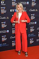 Amy Fuller arriving for the BT Sport Industry Awards 2018 at the Battersea Evolution, London, UK. <br /> 26 April  2018<br /> Picture: Steve Vas/Featureflash/SilverHub 0208 004 5359 sales@silverhubmedia.com
