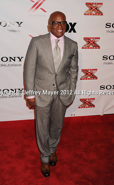 LOS ANGELES, CA - DECEMBER 06: L.A. Reid arrives at the 'The X Factor' Viewing Party Sponsored By Sony X Headphones at Mixology101 & Planet Dailies on December 6, 2012 in Los Angeles, California.