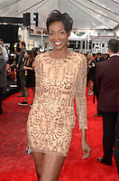 LOS ANGELES, CA - NOVEMBER 20: Roshumba Williams at Westwood One on the carpet at the 2016 American Music Awards at the Microsoft Theater in Los Angeles, California on November 20, 2016. Credit: David Edwards/MediaPunch