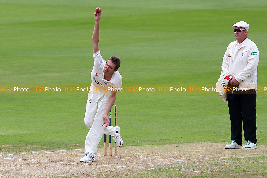 Michael Hogan in bowling action for Glamorgan - Essex CCC vs Glamorgan CCC - LV County Championship Division Two Cricket at the Essex County Ground, Chelmsford - 02/06/14 - MANDATORY CREDIT: Gavin Ellis/TGSPHOTO - Self billing applies where appropriate - 0845 094 6026 - contact@tgsphoto.co.uk - NO UNPAID USE