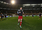 Belgium's Jan Vertonghen warms up<br /> <br /> - European Qualifier - Belgium vs Wales- Heysel Stadium - Brussels - Belgium - 16th November 2014  - Picture David Klein/Sportimage