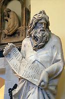 Italien, Toskana, Siena, Dommuseum, Simeon von Giovanni Pisani 13.Jh.