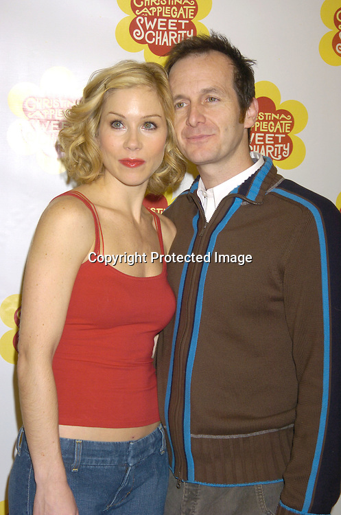 "Christina Applegate and Denis O'Hare ..at a rehearsal for the revival of ""Sweet Charity"" starring ..Christina Applegate and Dennis O'Hare on January 19, 2005 at the New 42nd Street Studios.  ..Photo by Robin Platzer, Twin Images"