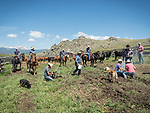 """Cattle and ranching in Montana's Big Hole Valley.<br /> <br /> Branding, marking and doctoring """"the lates"""" with the Dennis and Mykal Kirkpatrick family."""