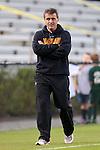 12 October 2012: Maryland head coach Sasho Cirovski. The University of Maryland Terrapins defeated the Duke University Blue Devils 2-1 at Koskinen Stadium in Durham, North Carolina in a 2012 NCAA Division I Men's Soccer game.