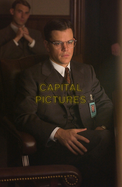 MATT DAMON.in The Good Shepherd  .**Editorial Use Only**.CAP/FB.Supplied by Capital Pictures