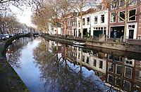 Nederland Gouda - december 2018. De Lage Gouwe.  Foto Berlinda van Dam
