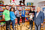 The staff of Kellihers launching their new toy shop, Toys Upstairs at Kellihers on Tuesday. <br /> Front l to r: Carla Griffin and Michael Quinn.<br /> Back l to r: Cian Doherty, Deidre O'Brien, Sharon Teahan, Ann O'Sullivan and Stephenie Fitzell.