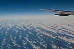 Stratus clouds over the Pacific Ocean