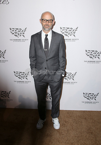 HOLLYWOOD, CA - MAY 07: Moby  attends The Humane Society of the United States' to the Rescue Gala at Paramount Studios on May 7, 2016 in Hollywood, California. Credit: Parisa/MediaPunch.