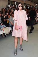 Lilah Parsons<br /> at the Eudon Choi catwalk show as part of London Fashion Week SS17, Brewer Street Car Park, Soho London<br /> <br /> <br /> &copy;Ash Knotek  D3155  16/09/2016