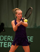The Hague, The Netherlands, March 17, 2017,  De Rhijenhof, NOJK 14/18 years,  Annick Melgers (NED)<br /> Photo: Tennisimages/Henk Koster
