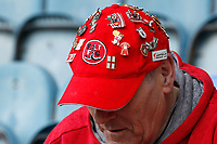 A Fleetwood Town fan's decorative hat seen during the Sky Bet League 1 match between Peterborough and Fleetwood Town at London Road, Peterborough, England on 28 April 2018. Photo by Carlton Myrie.