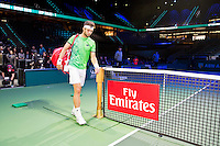 Rotterdam, The Netherlands, Februari 8, 2016,  ABNAMROWTT, Jiri Vesely (CZE), Fly Emirates<br />