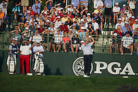 Senior PGA Champion, Colin Montgomerie, in action during the opening round of the US PGA Championship at Valhalla (Photo: Anthony Powter) Picture: Anthony Powter / www.golffile.ie