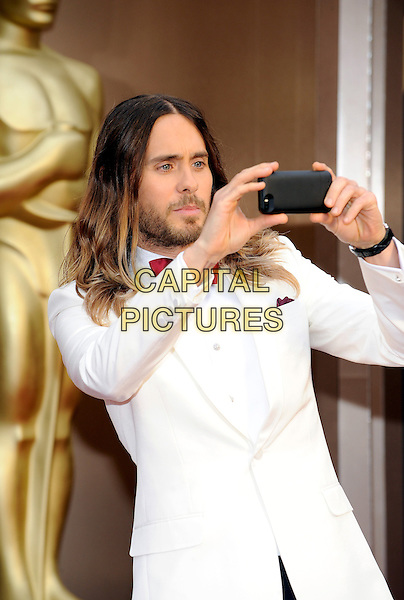 HOLLYWOOD, CA - MARCH 2: Jared Leto arriving to the 2014 Oscars at the Hollywood and Highland Center in Hollywood, California. March 2, 2014. <br /> CAP/MPI/COR<br /> &copy;Corredor99/ MediaPunch/Capital Pictures
