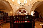 Judea, Hebron Mountain. Abraham Avinu Synagogue at the Jewish quarter in Hebron