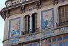 Can Barcel&oacute;, Plaza Josep Maria Quadrado, 9, (siglo XX) decorada con cer&aacute;micas policromadas de la antigua f&aacute;brica mallorquina &quot;La Roqueta&quot;, firmada por Vicen&ccedil; Lloren&ccedil;<br /> Can Barcel&oacute;, Plaza Josep Maria Quadrado, 9, (20th century) decorated with tiles of the antique mallorquean fabric &quot;La Roqueta&quot;, designed by Vicen&ccedil; Lloren&ccedil;<br /> Can Barcel&oacute;, Plaza Josep Maria Quadrado, 9, (20. Jh.) dekoriert mit Keramikkacheln der alten mallorquinischen Fabrik &quot;La Roqueta&quot;, gestaltet von Vicen&ccedil; Lloren&ccedil;<br /> 3008x2000 px
