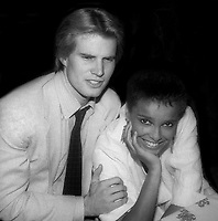 Jack Coleman and Shari Belafonte Undated<br /> Photo By John Barrett/PHOTOlink