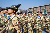 - mountain troops of Taurinense brigade  leaving for UN mission in Mozambique as peace force in 1993....- alpini della brigata Taurinense in partenza per la missione ONU in Mozambico come forza di pace nel 1993