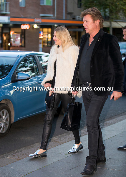 15 MAY 2017 SYDNEY AUSTRALIA<br /> WWW.MATRIXPICTURES.COM.AU<br /> <br /> EXCLUSIVE PICTURES<br /> <br /> Karl Stefanovic pictured with his girlfriend Jasmine Yarbrough and mother Jenny along with Richard Wilkins and son Prince and Jasmines sister Jade Having a late lunch at China Doll Restaurant. The new couple created a stir at fashion Week earlier in the afternoon when they sat front row for their first public appearance at the Justin Cassin show. <br /> <br /> Note: All editorial images subject to the following: For editorial use only. Additional clearance required for commercial, wireless, internet or promotional use.Images may not be altered or modified. Matrix Media Group makes no representations or warranties regarding names, trademarks or logos appearing in the images.