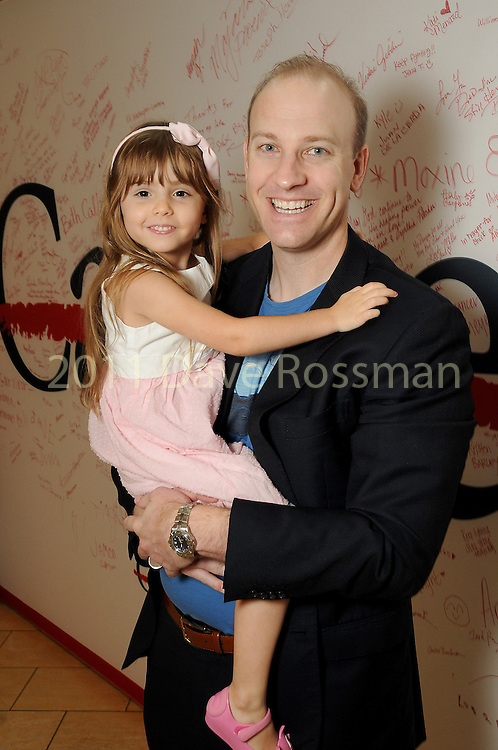 Brian Putsch and his daughter Gigi at the M.D. Anderson Back to School Fashion show at the Galleria Saturday Aug. 06,2016.(Dave Rossman Photo)