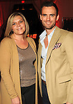 Jenn Self and Chris Kimbrough at the third  night of Fashion Houston at the Wortham Theater Wednesday Oct. 12,2011.(Dave Rossman/For the Chronicle)