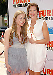 Skyler Samuels & Brooke Shields at the Summit Entertainment L.A. Premiere of Furry Vengeance held at The Bruin Theatre in Westwood, California on April 18,2010                                                                   Copyright 2010  DVS / RockinExposures