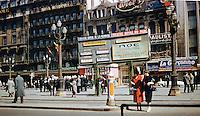 Hotel Metropole, France - 1959.
